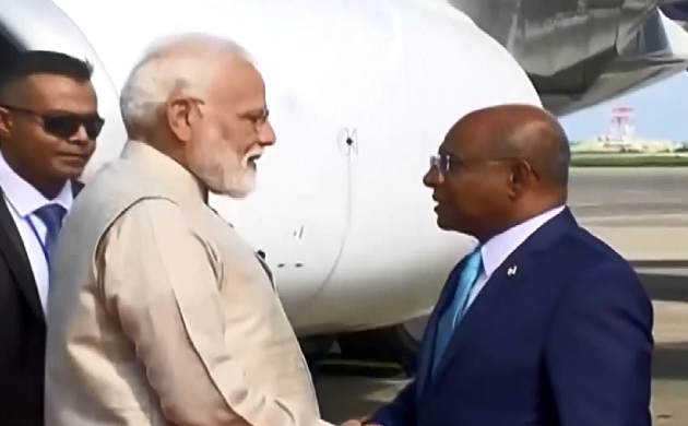 Breaking : मालदीव पहुंचे PM Narendra Modi