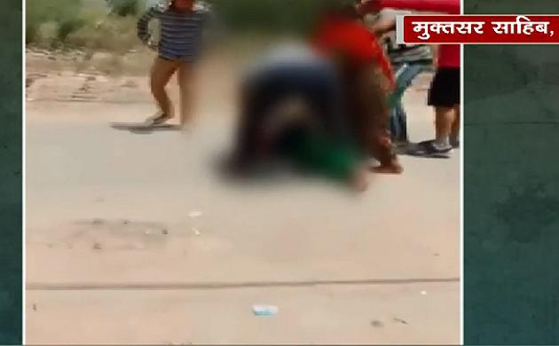 ताज़ा है तेज़ है : बीच सड़क पर महिला की बेरहमी से पिटाई की