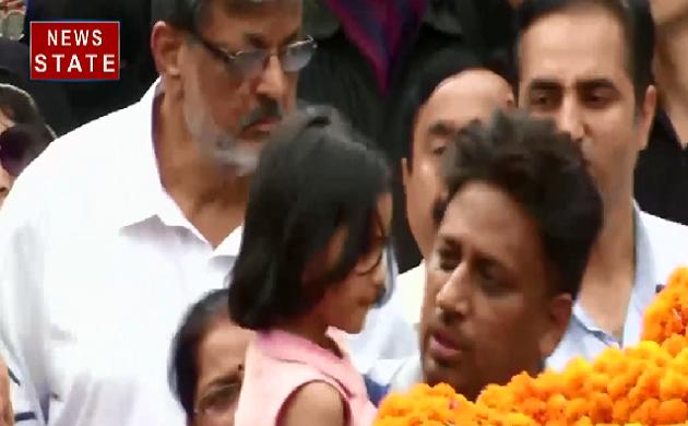 शहीद Major Ketan Sharma की आखिरी विदाई, हर शख्स की आंखें हुई नम