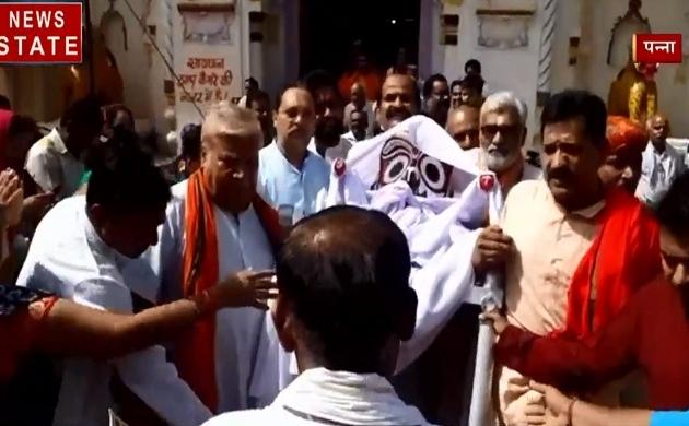 Madhya Pradesh: लू लगने से भगवान हुए बीमार, देखें यहां किया जाता है भगवान का इलाज