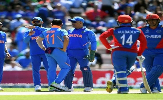 CWC 2019 : अफगानिस्तान के सामने नहीं चली भारतीय बल्लेबाजी, 224 पर रुकी