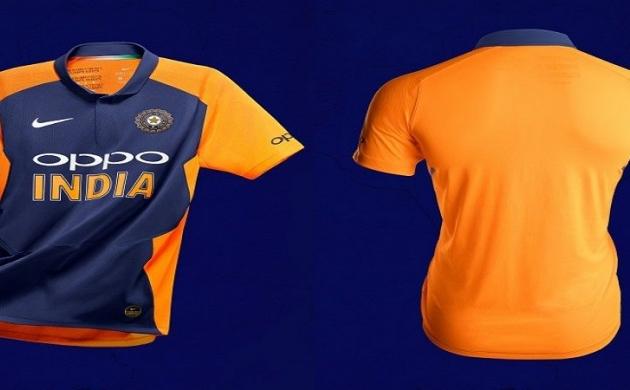World Cup: बीसीसीआई ने लॉन्च की भारतीय टीम की 'भगवा' जर्सी,  जानें क्यों बदला रंग