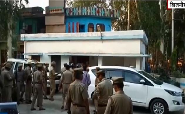 बिजनौर में एक शख्स की मौत के बाद हंगामा, देखें VIDEO