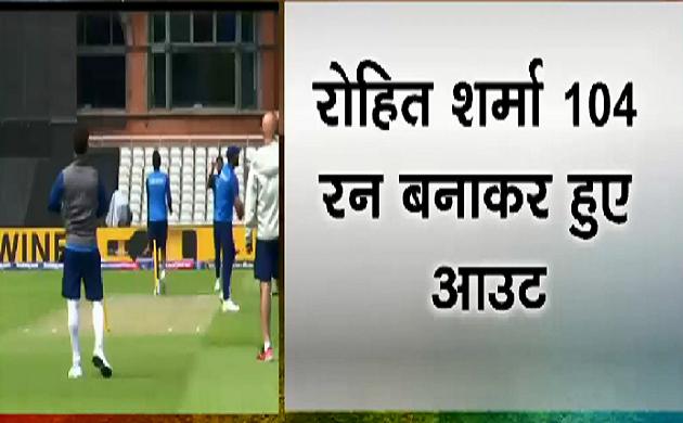 Cup हमारा है #IndiavsBangladesh : Rohit ने वर्ल्ड कप में लगाया चौथा शतक