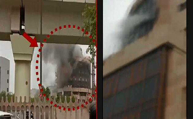 Breaking : दिल्ली के कड़कड़डूमा इलाके में लगी भीषण आग