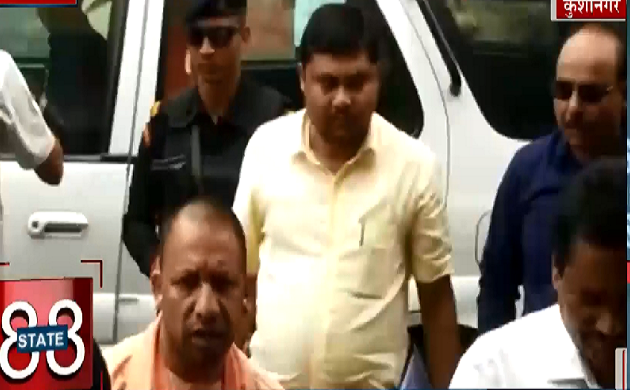 News Speed जंक्शन : कुशीनगर के जिला अस्पताल का निरीक्षण करने पहुंचे Yogi Adityanth