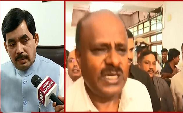 Exclusive : कर्नाटक में BJP एक जिम्मेदार विपक्ष की भूमिका निभा रही है - Shahnawaz Hussain