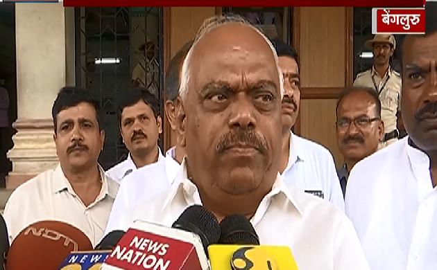 कर्नाटक के सियासी संकट पर बोले विधानसभा स्पीकर KR Ramesh, देखिए VIDEO