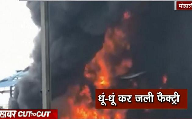 Khabar Cut2Cut : मोहाली के केमिकल फैक्ट्री में लगी आग, देखिए 12 मिनट में देश दुनिया की बड़ी ख़बरें