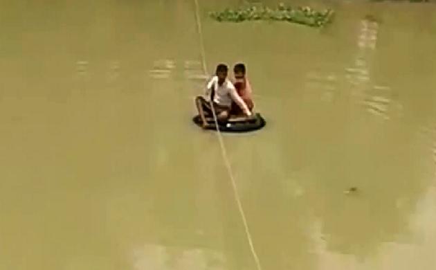 बिहार में बाढ़ का कहर, लाखों लोगों के सामने जीवनयापन का संकट, देखिए VIDEO