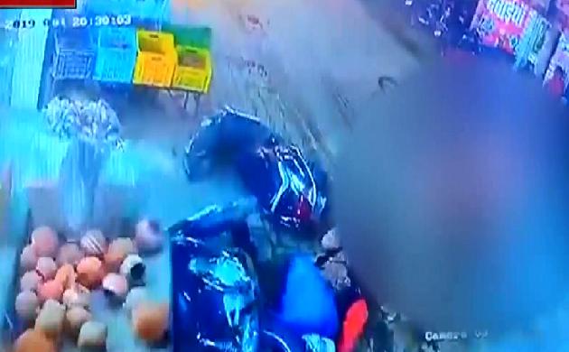 Panchkula : दो सांडों की लड़ाई में 6 माह की बच्ची की मौत, देखिए VIDEO