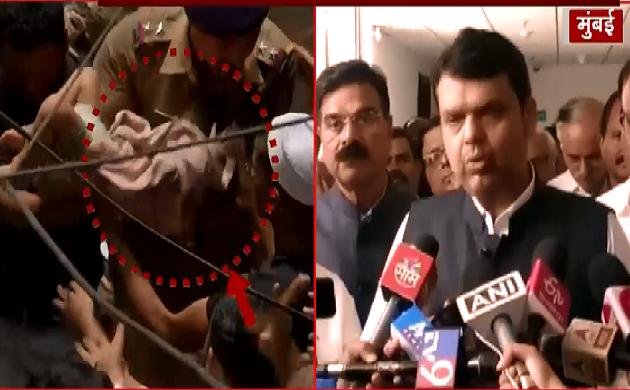 मुंबई में इमारत गिरने पर मुख्यमंत्री Devendra Fadnavis ने क्या कहा, देखिए VIDEO