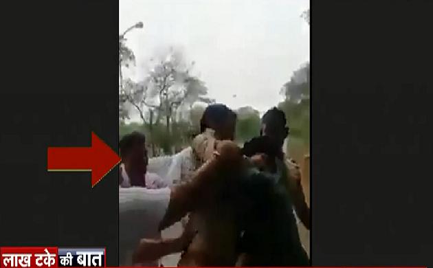 लाख टके की बात : ग्रेनो पुलिस के सिपाहियों की गुंडागर्दी, देखिए कितनी बेरहमी से की दो युवकों की पिटाई