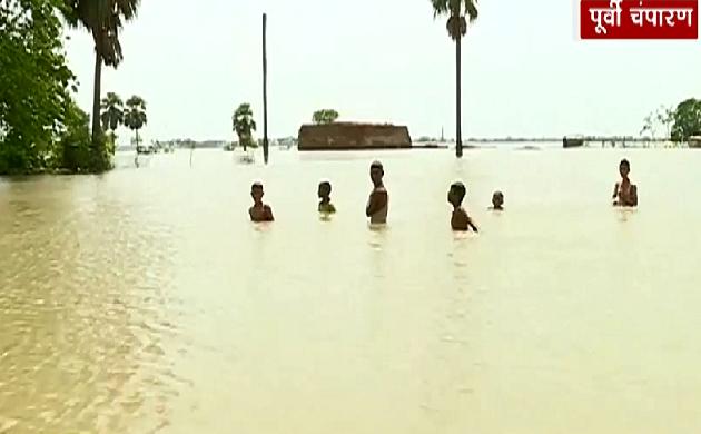 Bihar : पूर्वी चंपारण में बाढ़ से जिंदगी 'बदरंग', सिकरहना नदी तबाही लाई, देखिए VIDEO