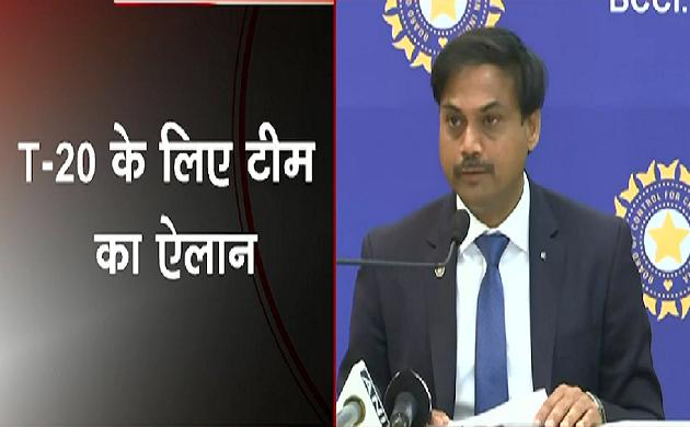 Breaking : वेस्टइंडीज़ दौरे के लिए भारतीय टीम घोषित