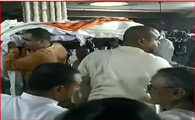 Sheila Dikshit Funeral : अनंत में विलीन हुई Sheila Dikshit, निगमबोध घाट पर किया गया अंतिम संस्कार