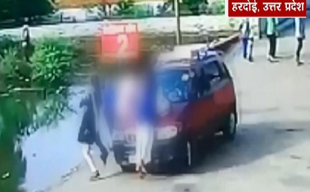 Shocking News : कार की टक्कर से मचा हड़कंप, कई फीट ऊपर उछली छात्रा