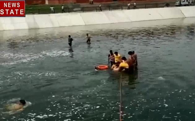 जयपुर: द्रव्यवती नदी में डूबने से दो बच्चों की मौत