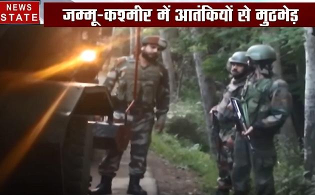 Jammu-Kashmir : शोपियां में सुरक्षाबल और आतंकियों के बीच मुठभेड़ जारी, दो आतंकी घिरे