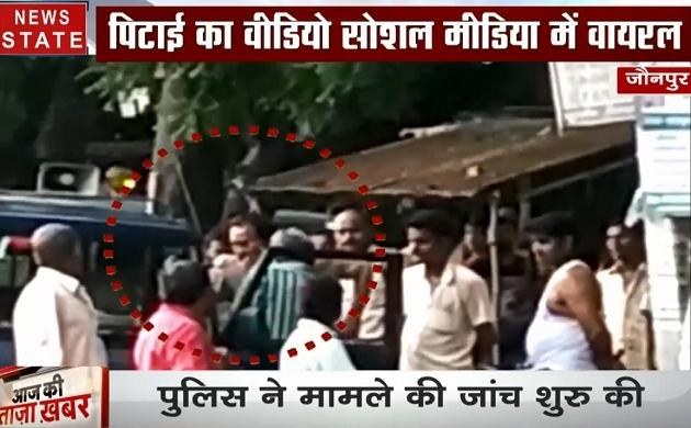 उत्तर प्रदेश: जौनपुर में दरोगा की दादागिरी, रोड़ पर जगह नहीं मिली तो कर दी बस ड्राइवर की पिटाई