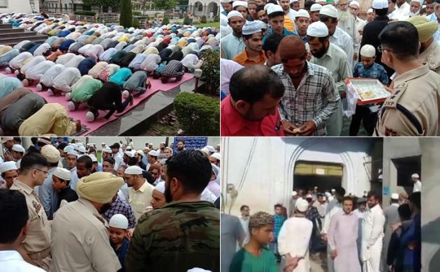 देशभर में बकरीद की धूम, अनुच्छेद 370 हटने के बाद कश्मीर में मनाई गई पहली ईद