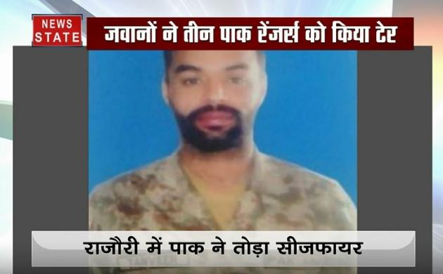 रजौरी में पाक ने तोड़ा सीजफायर, भारतीय जवानों ने 3 पाकिस्तानी रेंजर्स को किया ढेर
