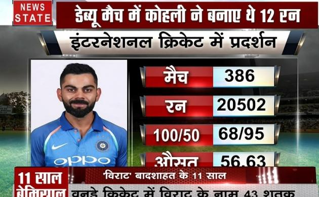 Stadium : क्रिकेट में बादशाहत के 11 'विराट' साल, वर्ल्ड क्रिकेट में बनाए कई रिकॉर्ड