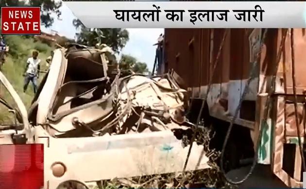 UP Speed News: शाहजहांपुर हादसे में 17 लोगों की मौत, सूरज हत्याकांड की गुत्थी सुलझी, देखें प्रदेश की खबरें