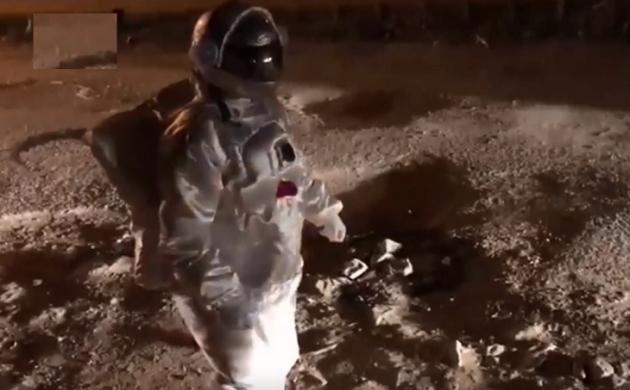 चांद' की उबड़-खाबड़ सतह पर एक 'भारतीय' ने किया 'मून वॉक', जानें कैसे दिया 'अंजाम'