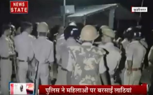 Uttar pradesh: ग्रामसभा की जमीन पर कब्जे की जंग, दो पक्षों में खूनी विवाद, भारी पुलिस बल तैनात
