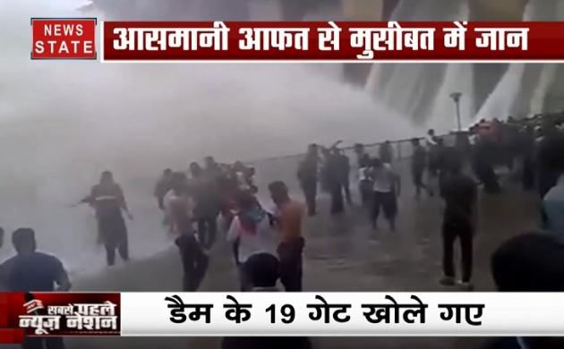 एमपी में कुदरत के कहर से लोग बेहाल,  श्योपुर में डैम के 19 गेट खोले गए
