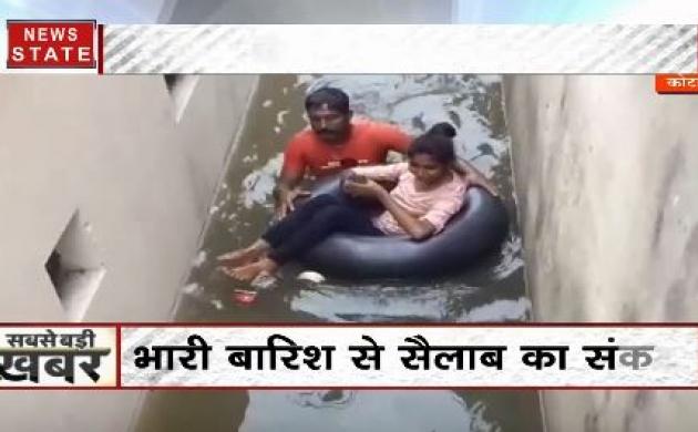 राजस्थान में भी जारी बाढ़-बारिश की मार, बेकाबू हुई नदियों से लोगों में दहशत