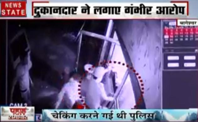 पहाड़ समाचार : देखिए पुलिसकर्मियों की बदसलूकी का वीडियो