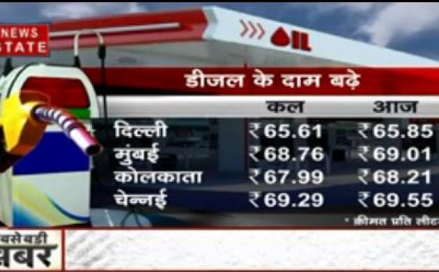 2 दिन में दिल्ली में 40 पैसे महंगा हुआ पेट्रोल-डीजल