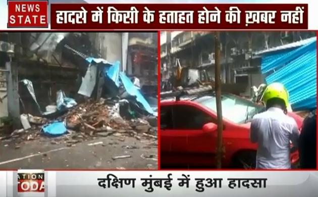Mumbai: तेज बारिश के बाद गिरी इमारत, रेस्क्यू टीम मौके पर