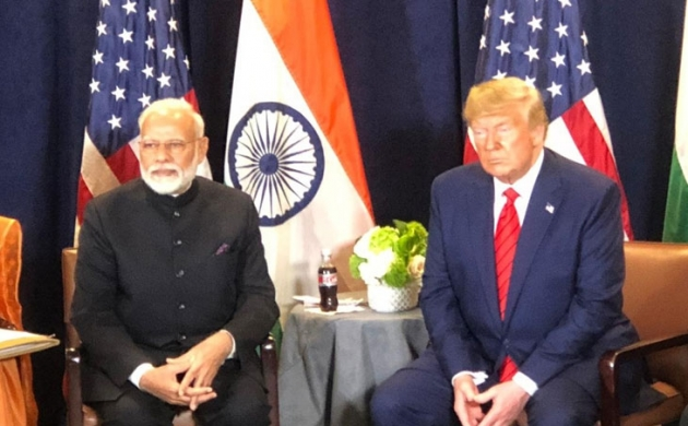 अमेरिकी राष्ट्रपति डोनाल्ड ट्रंप ने पीएम नरेंद्र मोदी को बताया 'फादर ऑफ इंडिया'