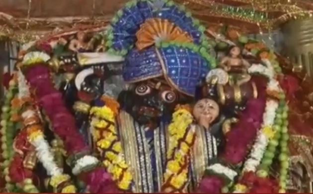 नवरात्रि में माता कंकाली के दर्शन को उमड़े श्रद्धालु