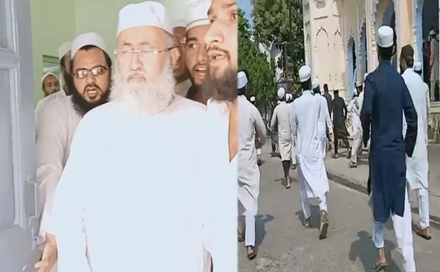 नदवा यूनिवर्सिटी में झड़प, सलमान हुसैनी नदवी ने मुस्लिम लॉ बोर्ड और आजम खान पर लगाया बड़ा आरोप