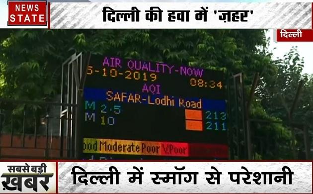 Delhi :दिल्ली-NCR की खराब हवा से निपटने के लिए आज से लागू होगा ये खास प्लान, इन चीजों पर लगेगी रोक
