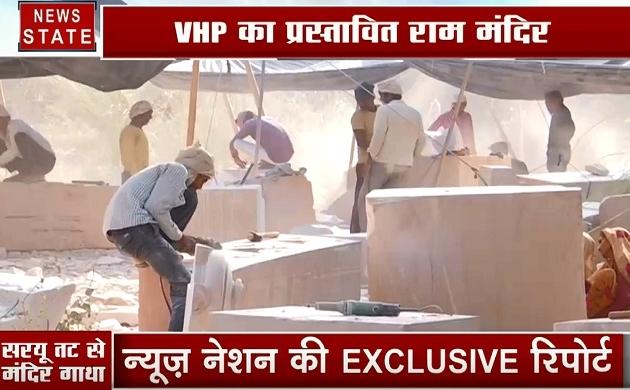 Ayodhya dispute: देखिए VHP का प्रस्तावित राम मंदिर का मॉडल, कैसा होगा राम मंदिर