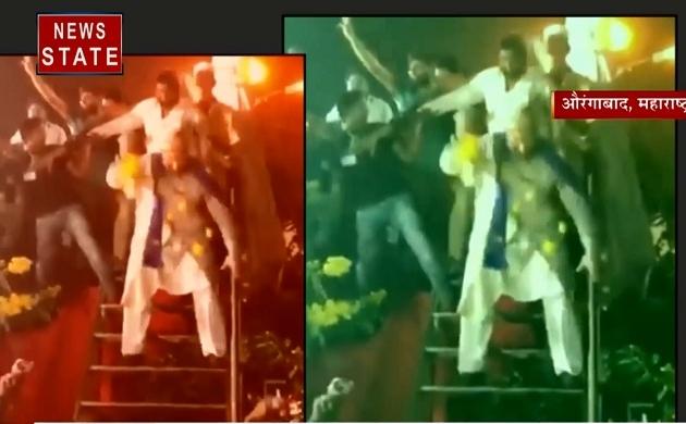 Madhya pradesh:  देखिए असदुद्दीन ओवैसी की अनोखा डांस