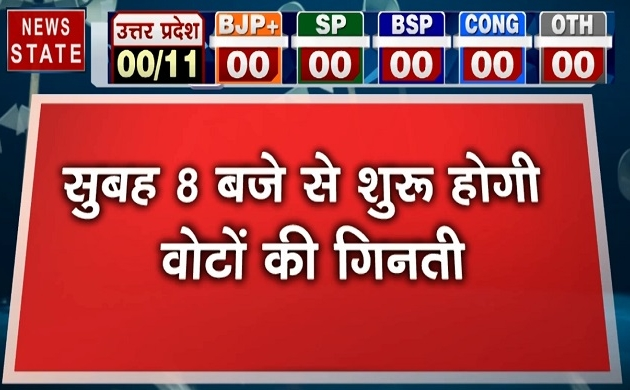 UP Assembly Election Result : 8 बजे से शुरू होगी वोटों की गिनती