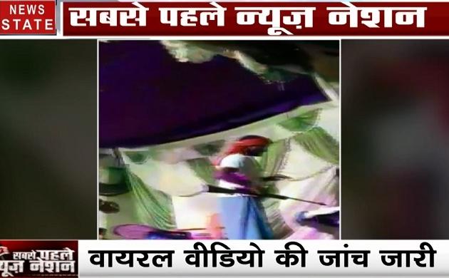 Bihar: लक्ष्मी पूजन पर बार बालाओं के ठुमके और स्टेज पर बंदूक की धौंस