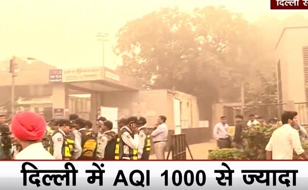 Delhi Pollution: अरुण जेटली स्टेडियम में आज भारत बनाम बांग्लादेश, प्रदूषण की वजह से टी-20 मैच में देरी