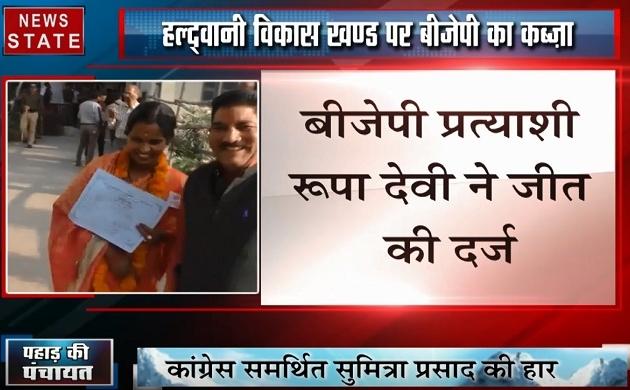 Uttarakhand: हल्द्वानी विकास खंड पर हुई बीजेपी की जीत