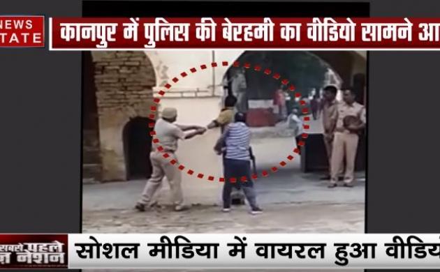 कानपुर: थाने से 3rd डिग्री का वीडियो वायरल, शख्स को बेरहमी से पीटती नजर आई पुलिस