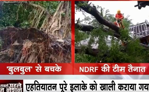 Shocking News: पश्चिम बंगाल में बुलबुल तूफान से मची तबाही, तेज हवाओं के साथ बारिश शुरु, हवा में उड़े पेड़