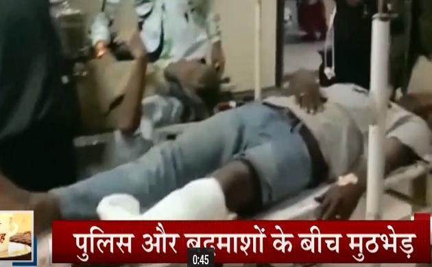 UP: मेरठ में देर रात पुलिस और बदमाशों की मुठभेड़, 25 हजार का इनामी बदमाश 'जॉन शिना' गिरफ्तार