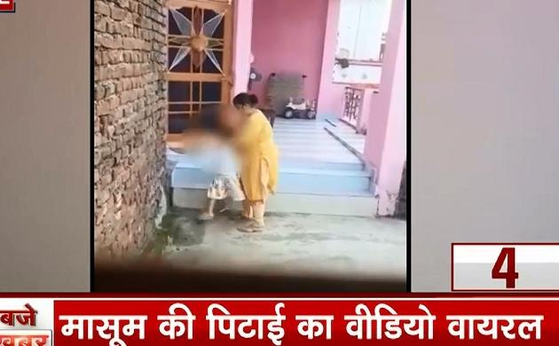 25 Khabrein: मासूम की बेरहमी से पिटाई का वीडियो वायरल, पंजाब पुलिस के हत्थे चढ़ी मां