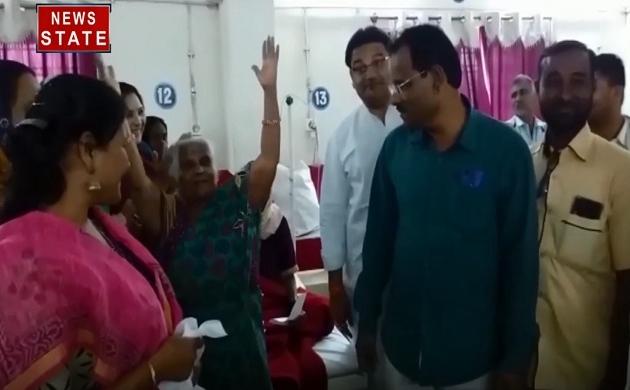 Madhya pradesh: सीएम कमलनाथ के जन्मदिन पर आम्मा जी ने किया डांस, देखें अनोखे अंदाज में दी बधाई